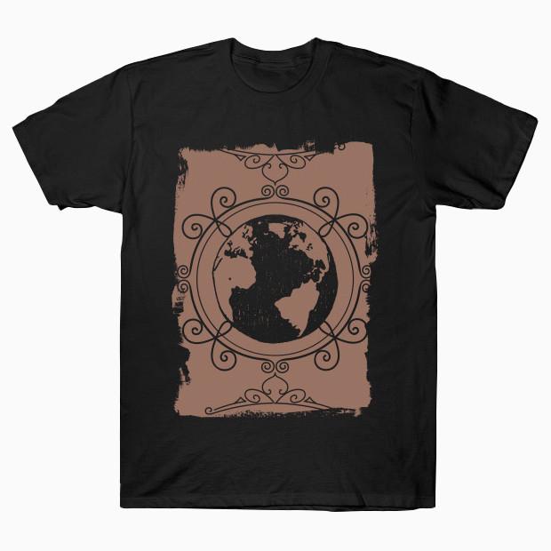 Vintage planet T-Shirt