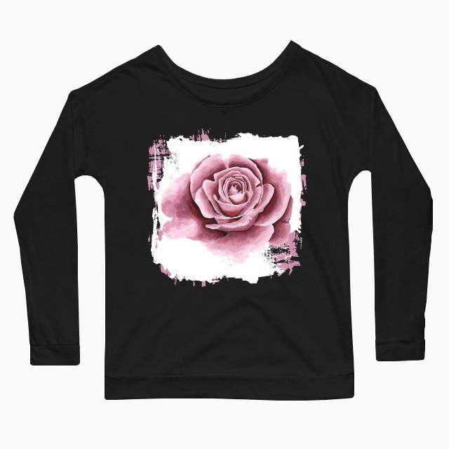 Artsy flower Women's Long Sleeve T-Shirt