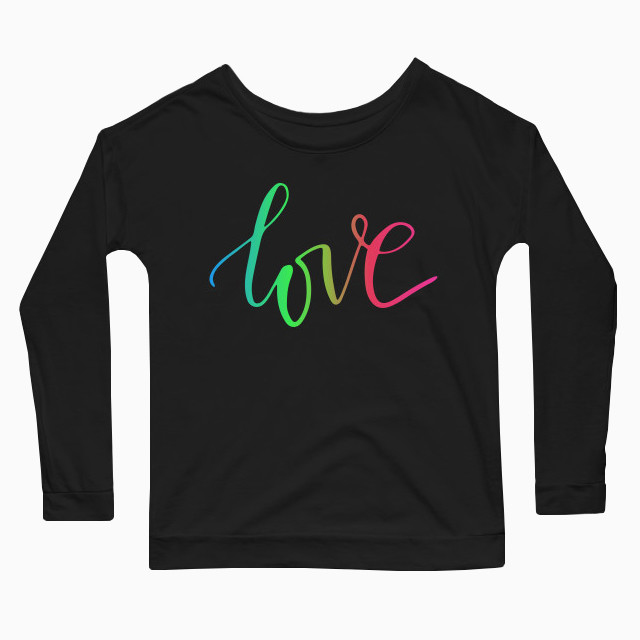 Love RGB Women's Long Sleeve T-Shirt