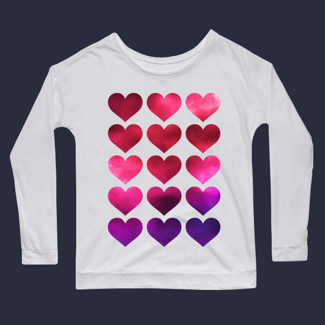 Painted hearts Women's Long Sleeve T-Shirt