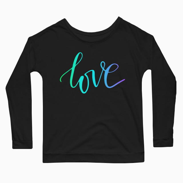 RGB Love Women's Long Sleeve T-Shirt